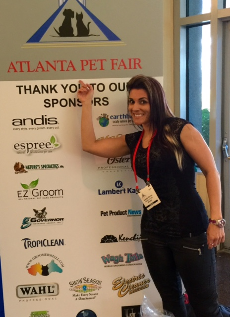 "Isabelle et la Bête au ""Atlanta Pet Fair"""